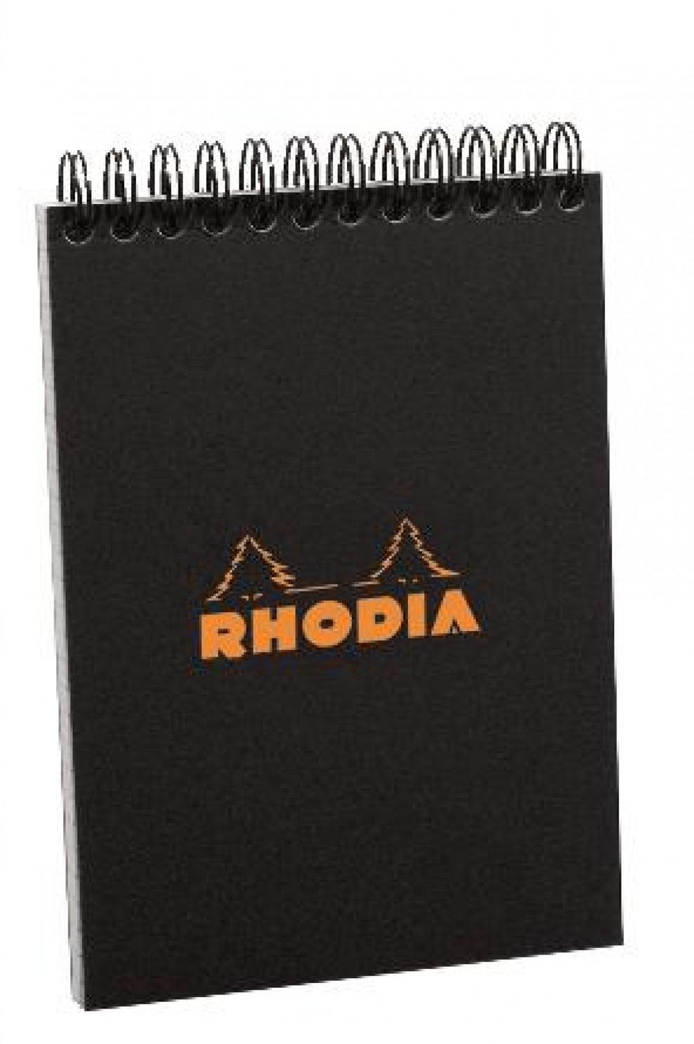 Rhodia #13 Black Top Wirebound Notepad