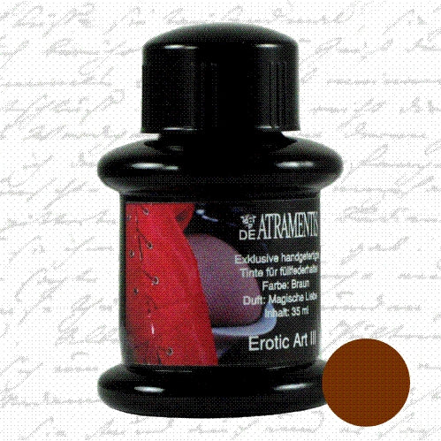 DeAtramentis Fragrance Erotic Art III, Brown