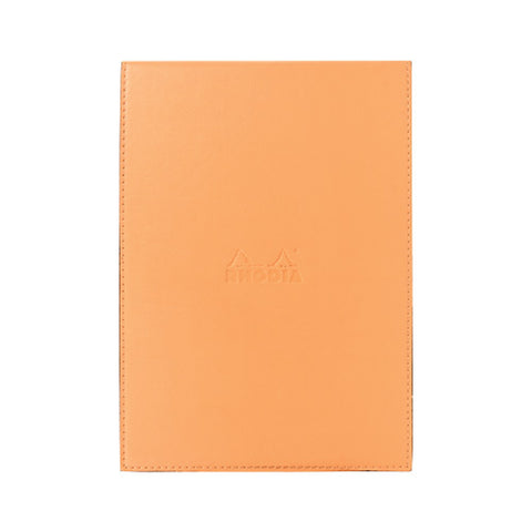 Rhodia #16 Pad Holder Orange with Orange Graph Pad, 6 x 8 3/4