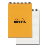 Rhodia #16 Orange Top Spiralbound