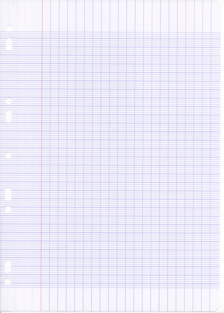Clairefontaine A4 French Ruled Loose Leaf