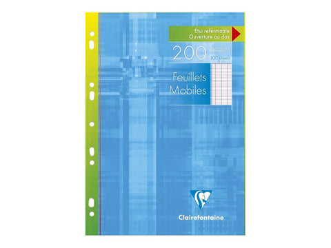 Clairefontaine A4 French Rule Loose Leaf