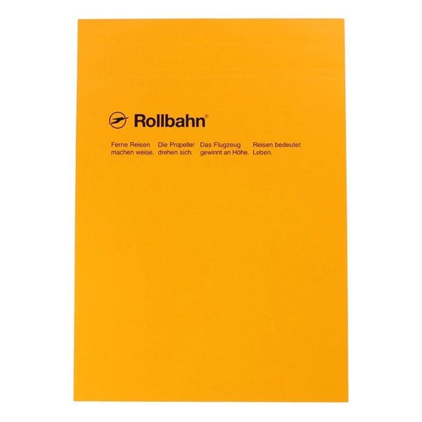 Rollbahn B6 Top Bound Notepad- Ruled