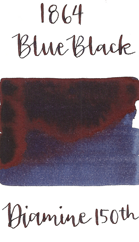 Diamine 150th 1864 Blue Black