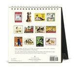 Cavallini & Co. 2020 Desk Calendar- Vintage Dogs