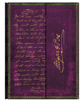 Paperblanks Embellished Manuscripts - Poe, Tamerlane Ultra Wrap