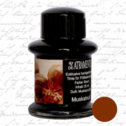 DeAtramentis Fragrance Nutmeg, Brown