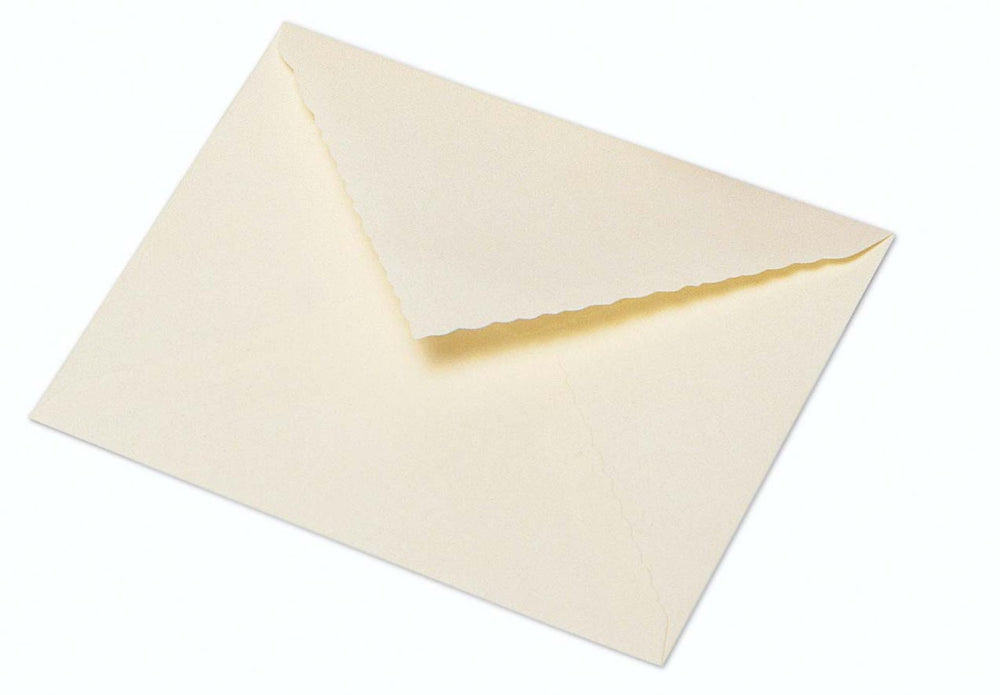 G. Lalo Open Stock Deckle Edge French Wedding 5 ¼ x 3 ½ Envelopes