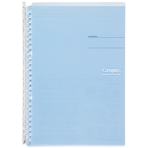 Kokuyo Campus Smart Ring B5 Binder- Light Blue