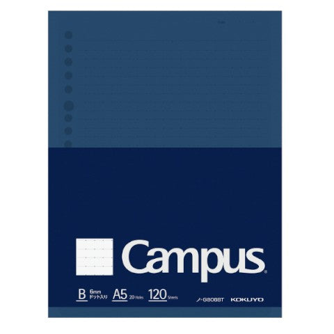 Kokuyo Campus A5 Biz Loose Leaf- Dotted Lines