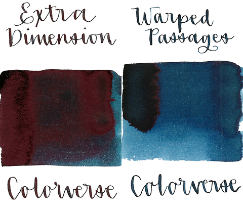 Colorverse 27 & 28 Extra Dimension & Warped Passages