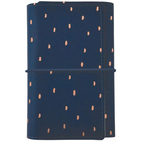 KaiserCraft Small Planner Navy with Rose Gold Foil Accents