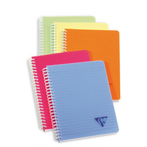 Clairefontaine 328266 Linicor Wirebound Notebooks 4 3/4 x 5 3/4 Lined