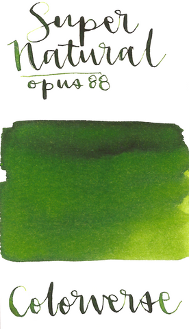 Colorverse 39 Supernatural for Opus 88 PICNIC Green
