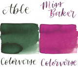 Colorverse 43 & 44 Able & Miss Baker