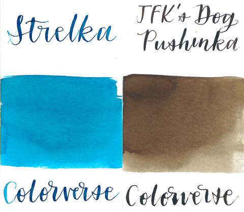 Colorverse 45 & 46 Strelka & JFK's Dog Pushinka