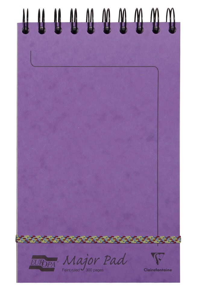 Clairefontaine Europa Major Top Spiralbound Notepad