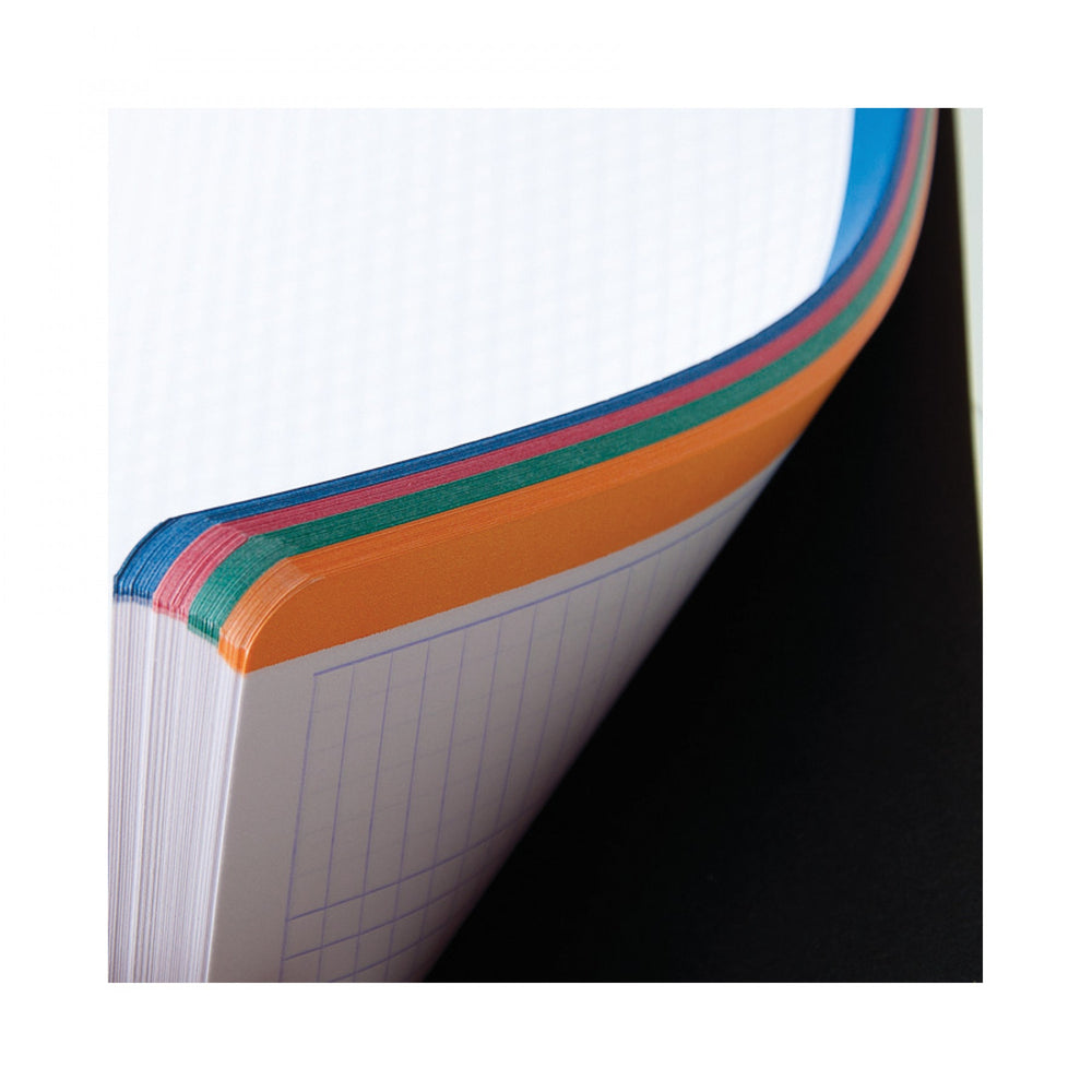 Rhodia Classic 4 Color Side Wirebound Notebook 9 x 11 ¾- Black, Lined