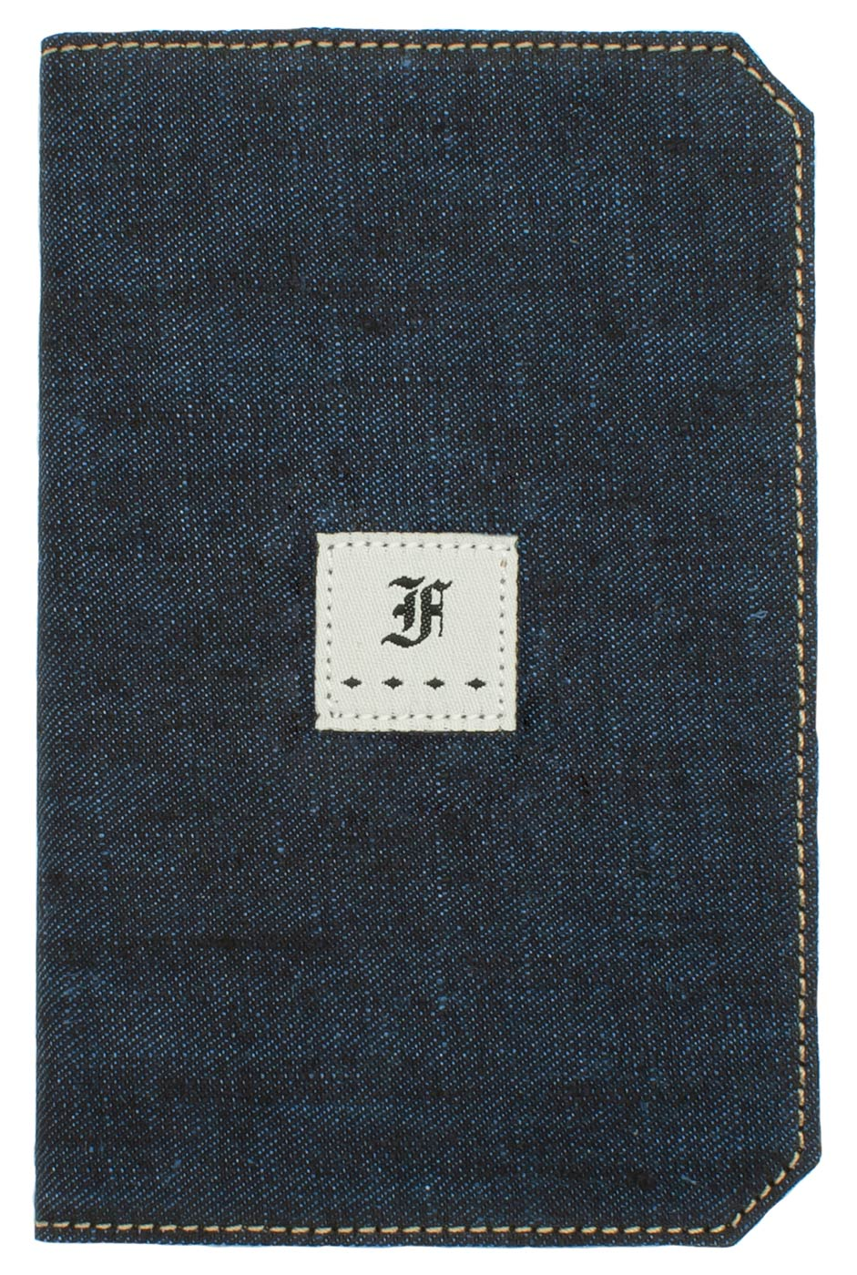 Franklin Christoph 5.3 Pocket Notebook Cover - Blue Linen