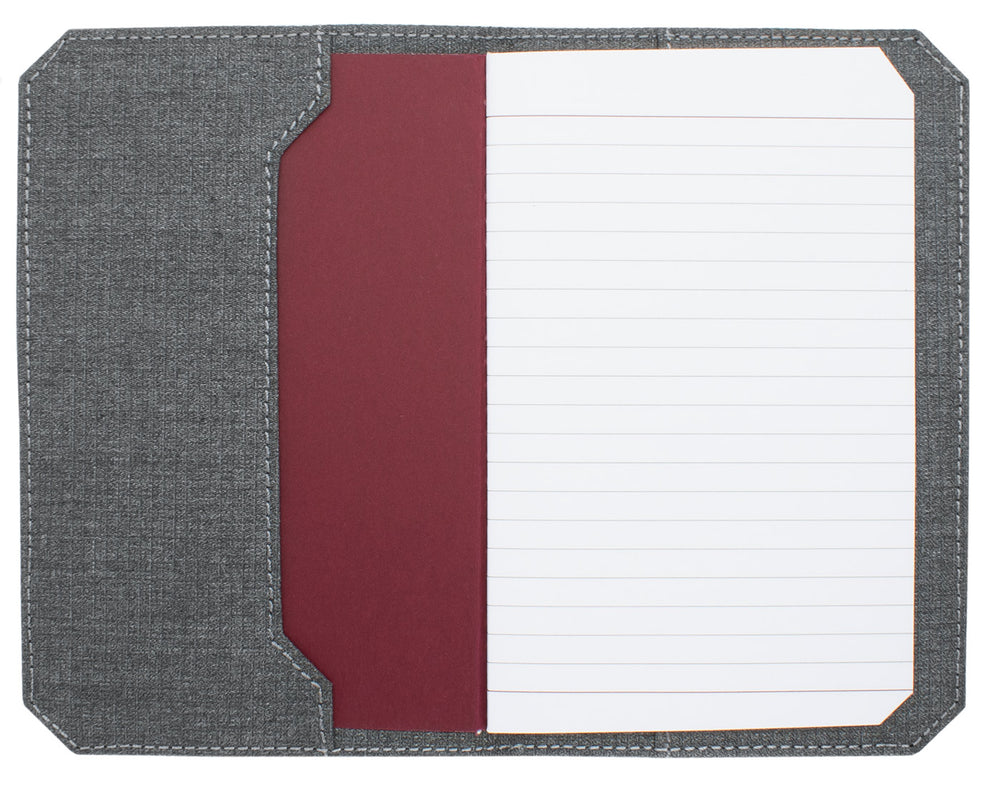 Franklin Christoph 5.3 Pocket Notebook Cover - Suit Grey