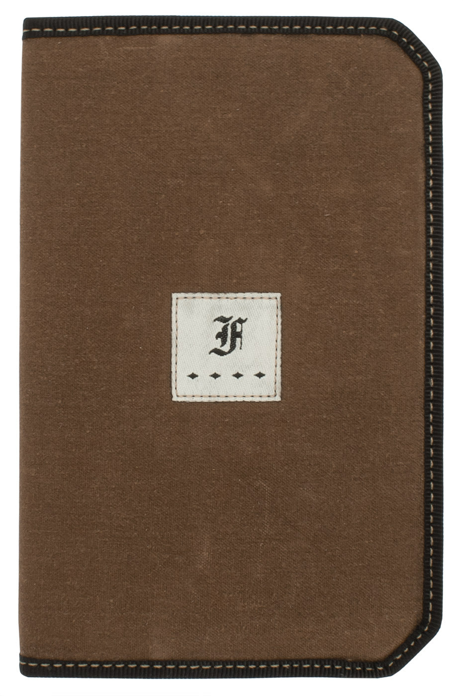 Franklin Christoph 5.3 Pocket Notebook Cover - Umber Canvas