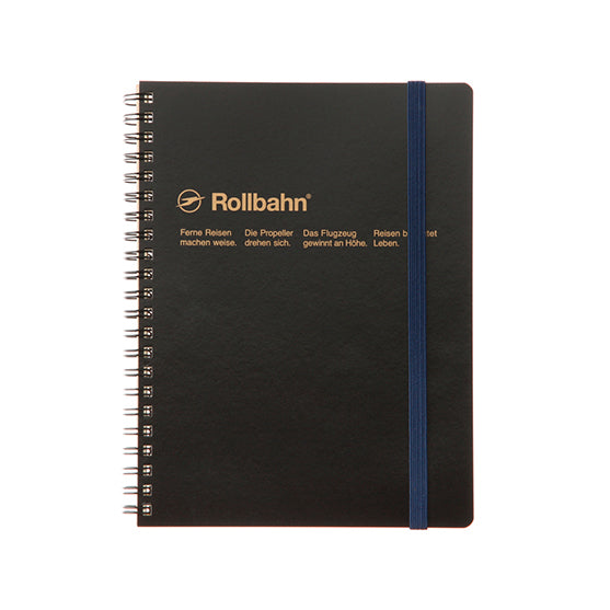Rollbahn A5 Size Black