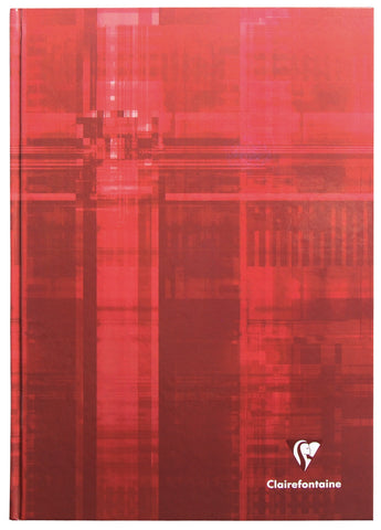 Clairefontaine 695162 Classics Hardcover 6 x 8 ¼ Red