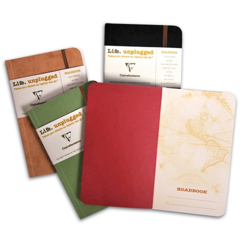 Clairefontaine Basics Roadbook A5 Red