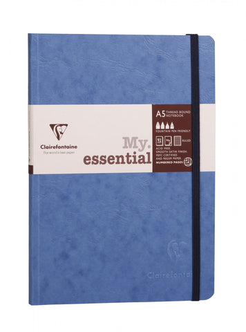 Clairefontaine Basics My Essential A5 Blue Lined