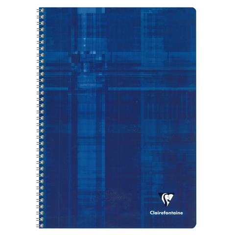 Clairefontaine 8139 Classic Side Wirebound 8 ½ x 11 ¾ Graph 4 Subject