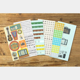 Traveler's Company Traveler's Note Customized Sticker Set for 2020 Diary