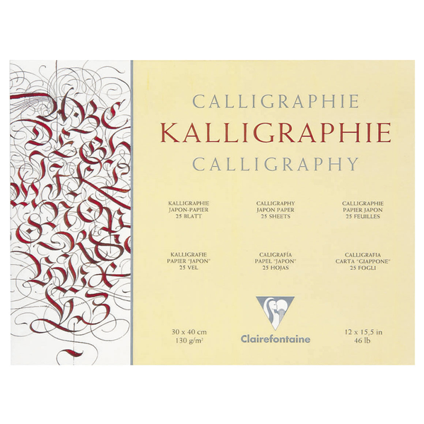 Clairefontaine Kalligraphie Pad
