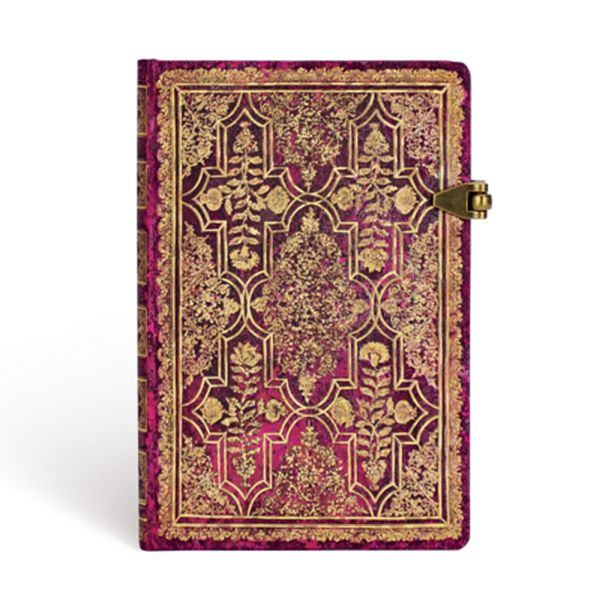 Paperblanks Fall Filigree- Amaranth Mini