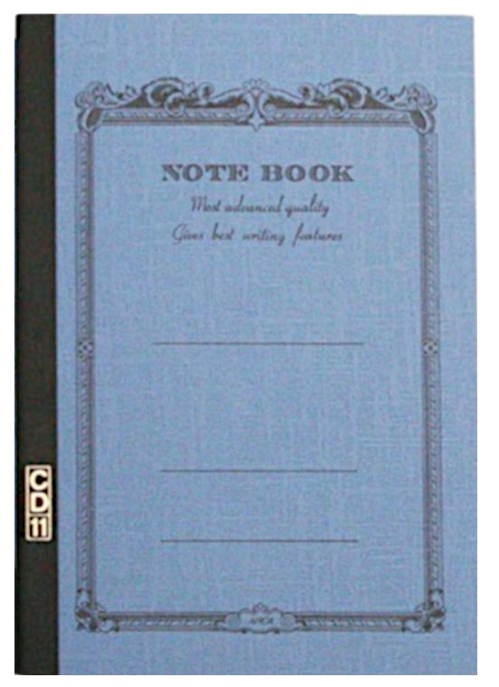 APICA A5 C.D. Notebook- Blue