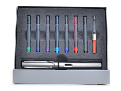 Lamy  Al-Star Graphite Fountain Colors Gift Set