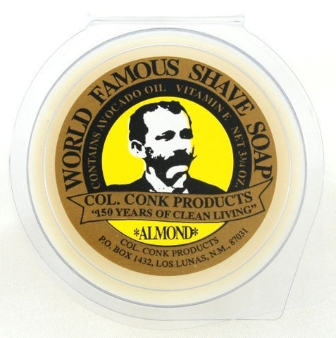 Colonel Conk Almond 3.75oz Glycerine Soap