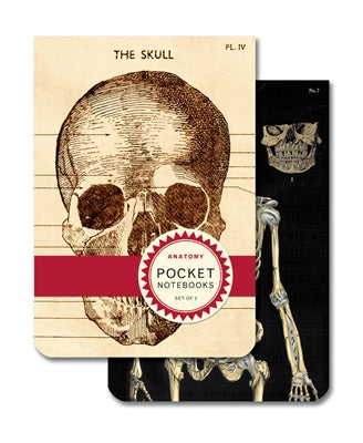 Cavallini & Co. Pocket Notebook Set- Anatomy