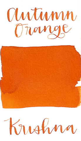 Krishna Super Rich Autumn Orange Ink