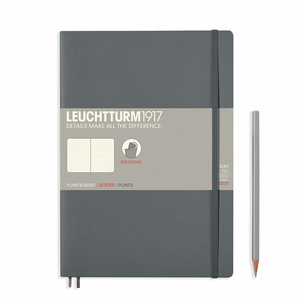 Leuchtturm1917 B5 Composition Notebook - Anthracite