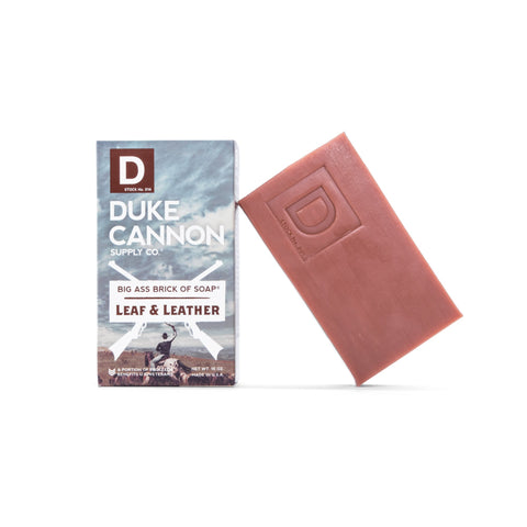 Duke Cannon Big Ass Brick of Soap- Leaf and Leather