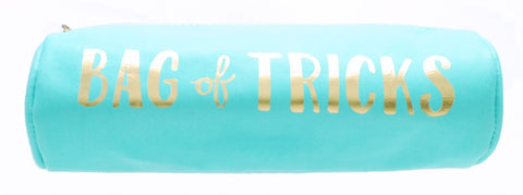 Bag of Tricks Deluxe Round Pouch