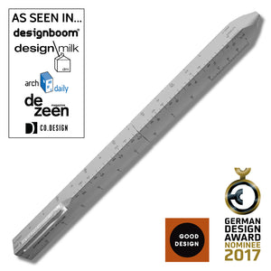 ACME SCALE Retractable Ballpoint by Shigeru Ban