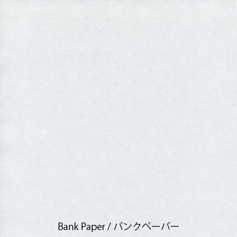 Yamamoto Paper Bank Paper A4 Loose Leaf 50 Sheets