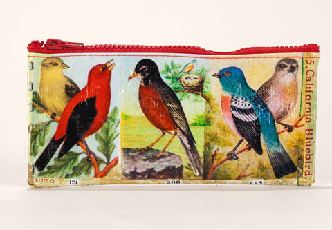 "Blue Q Pencil Pouch ""Bird"""