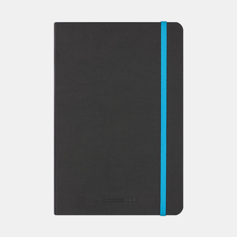 Endless Recorder Notebook Infinite Space Black