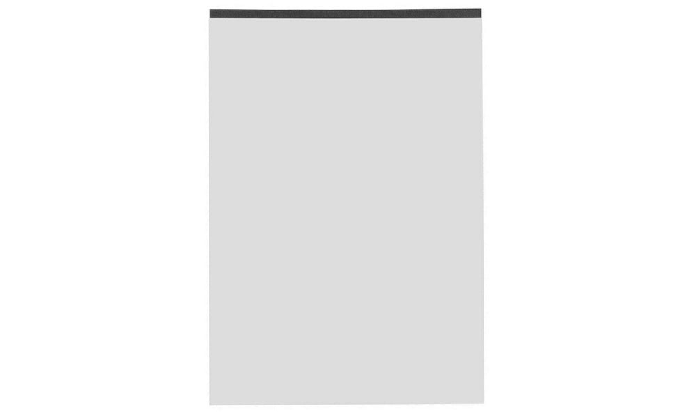Black Block A4 Notepad- Grey, Lined