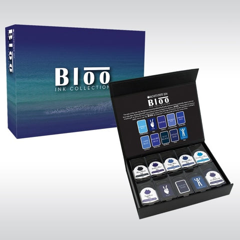 Monteverde Bloo Ink Collection 10 Piece Gift Set