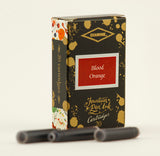 Diamine Blood Orange fountain pen ink is available in a pack of 20 standard international cartridges