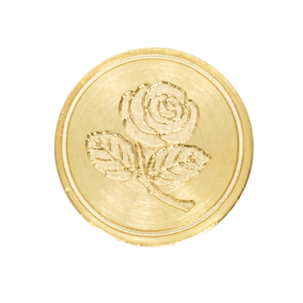 "Freund Mayer Brass ""Rose"" Wax Seal"