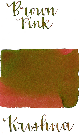 Krishna Super Rich Brown Pink Ink
